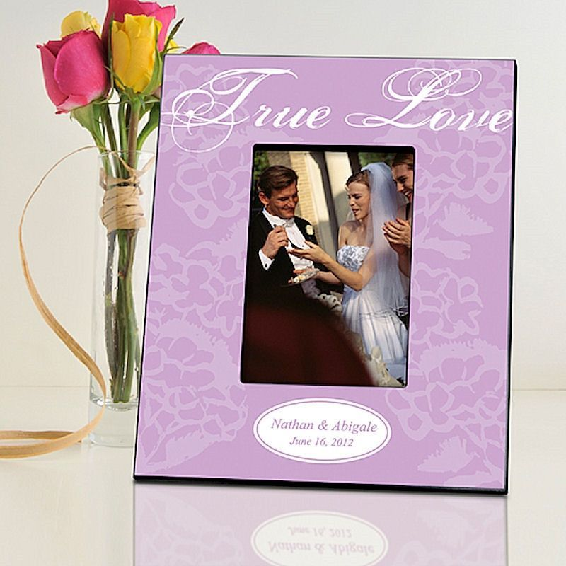 True Love in 2 Designs | Personalized Picture Frame for 4x6 Photo