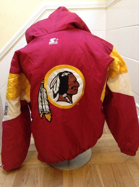 9a9e411b6 Vintage Washington Redskins Starter Jacket Medium on Etsy, $68.00 ...