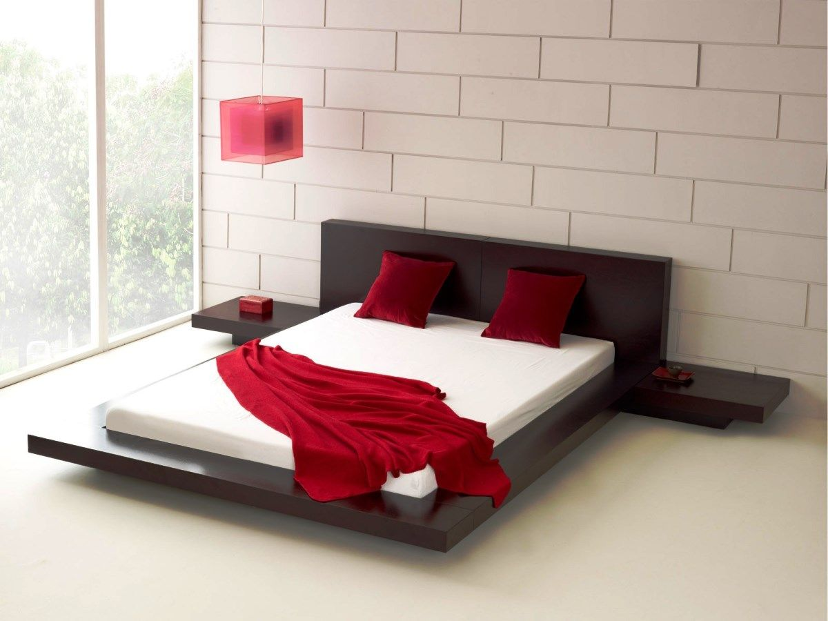 Black and white red bedroom - 17 Best Images About Sleep Time Contemporary Beds On Pinterest Leather Headboards And Red Bedrooms