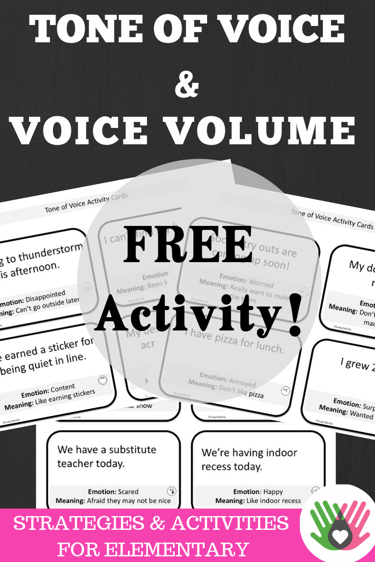 How To Teach Respectful Tone Of Voice Freebie Classroom Freebies Speech Therapy Activities Tone Of Voice Voice Levels
