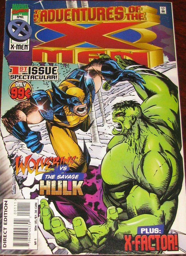 Adventures of the X-Men #1 1996