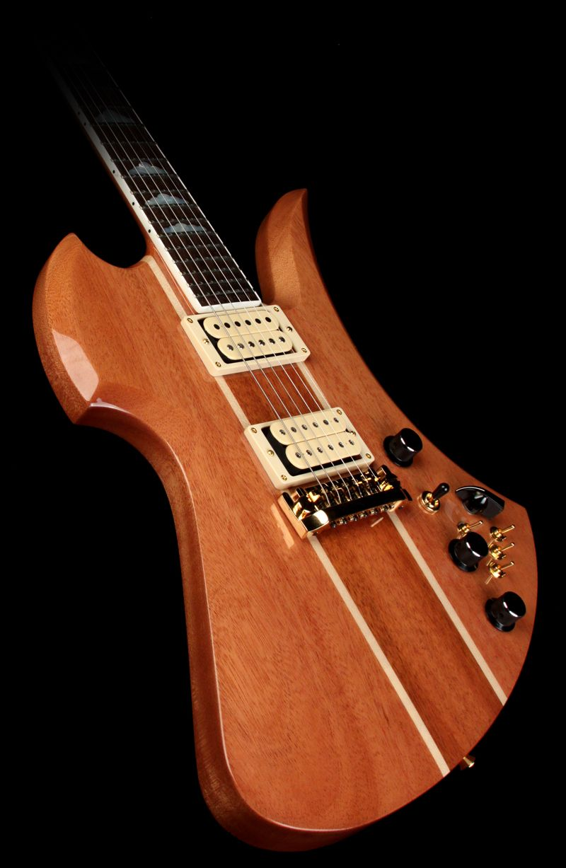 b c rich usa handcrafted mockingbird supreme electric guitar natural [ 800 x 1227 Pixel ]