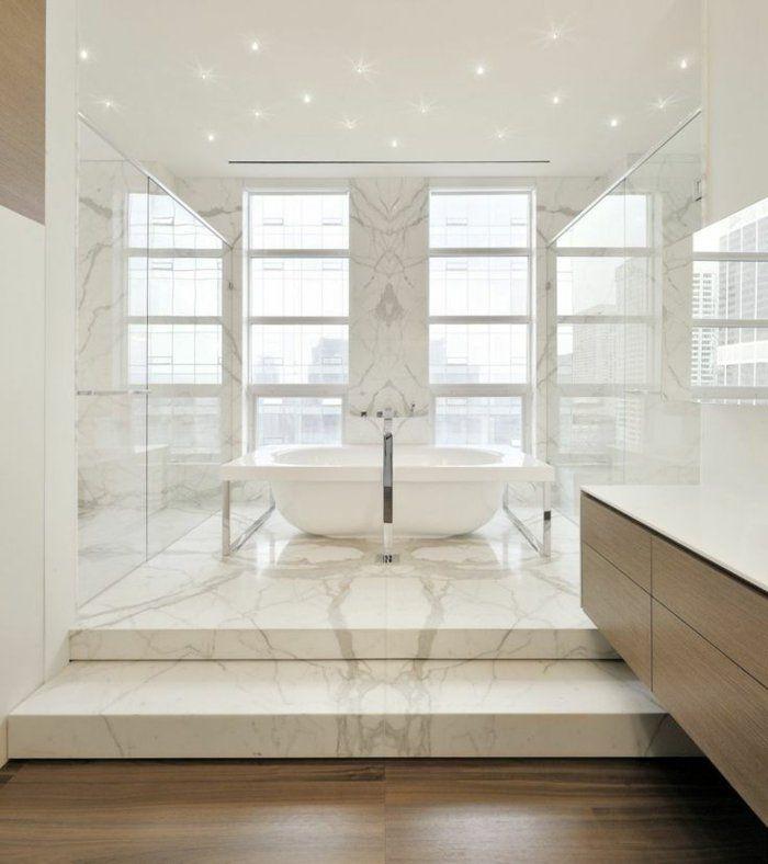 Beaucoup d\'idées en photos pour la salle de bain en marbre. | Mixers ...