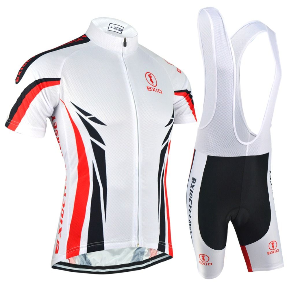 eb2ecaec7 BXIO Men s Cycling Sets Ropa Ciclismo Mujer Pro Mountain Bike Team Short  Sleeve Summer Bicycle Clothing