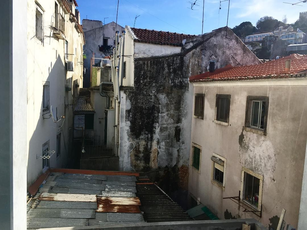 Lisboa Menina E Moa Work Lisbon Mouraria Ruins Civilengineer