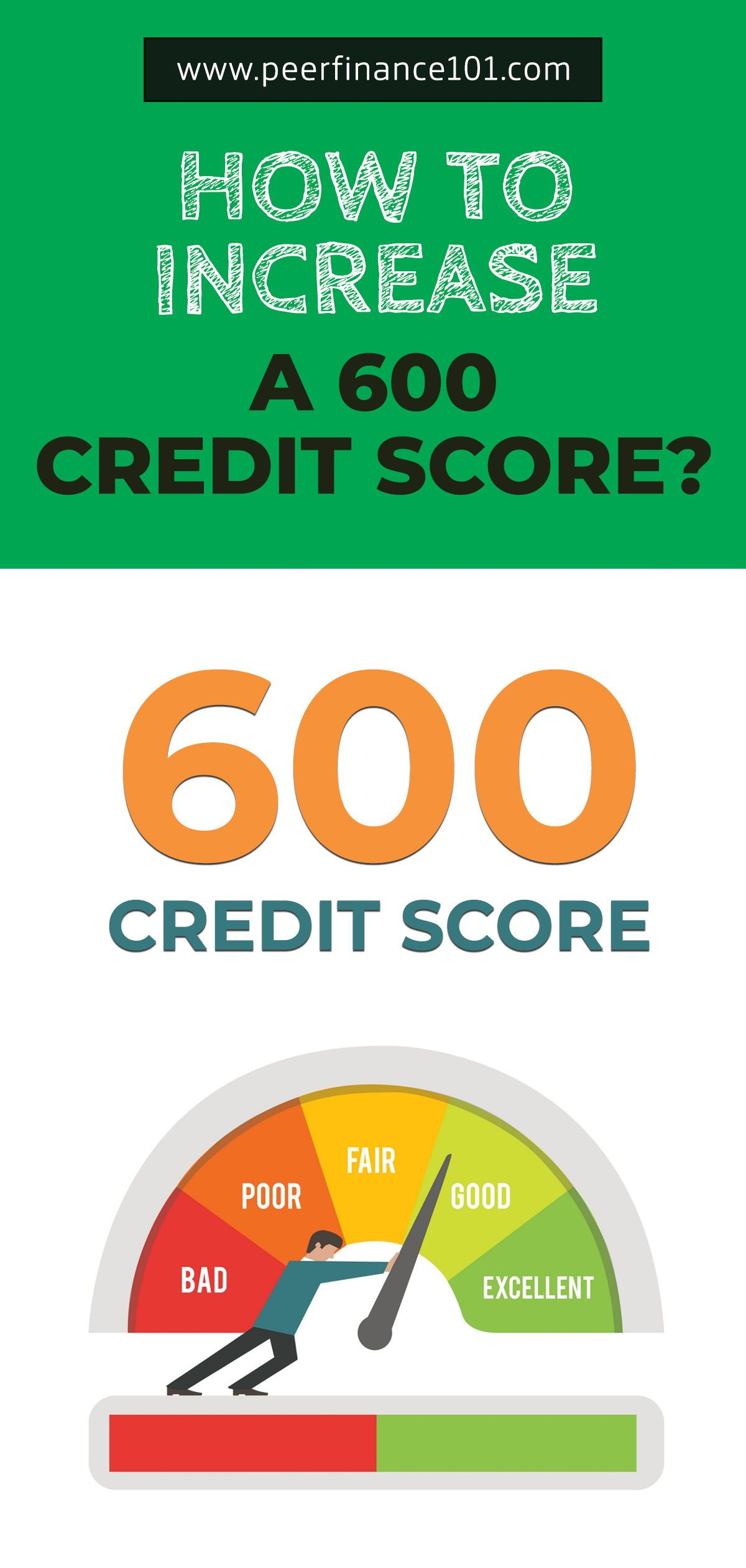 How A 600 Credit Score Will Ruin Your Life And How To Change It Credit Score How To Get Credit Personal Finance Advice