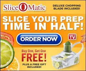 The Sliceomatic As Seen On Tv Is Great For Chopping Fruits And Vegetables This Food Slicer Helps You To Cut Your Prep Time In Half