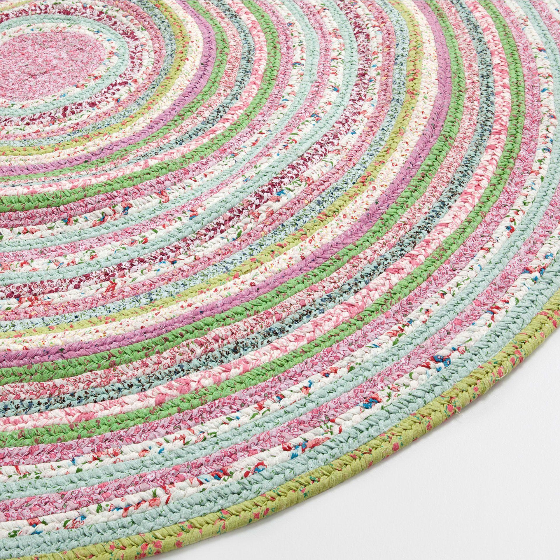 Alfombra Kids Redonda Multicolor Alfombras Decoracion Zara