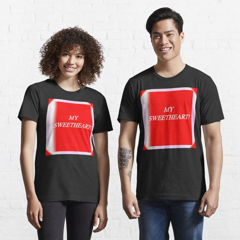 VALENTINE'S DAY Essential T-Shirt by JAZSEMAJ