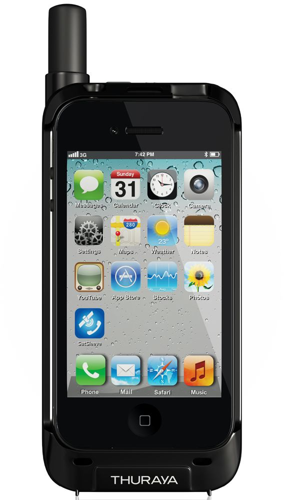 Thuraya SatSleeve Lets You Use Your iPhone wahhhh :D