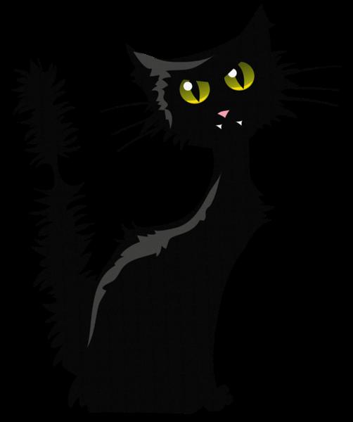 Black Cat Clipart Free Download Transparent Png Creazilla Cat Clipart Clip Art Black Cat