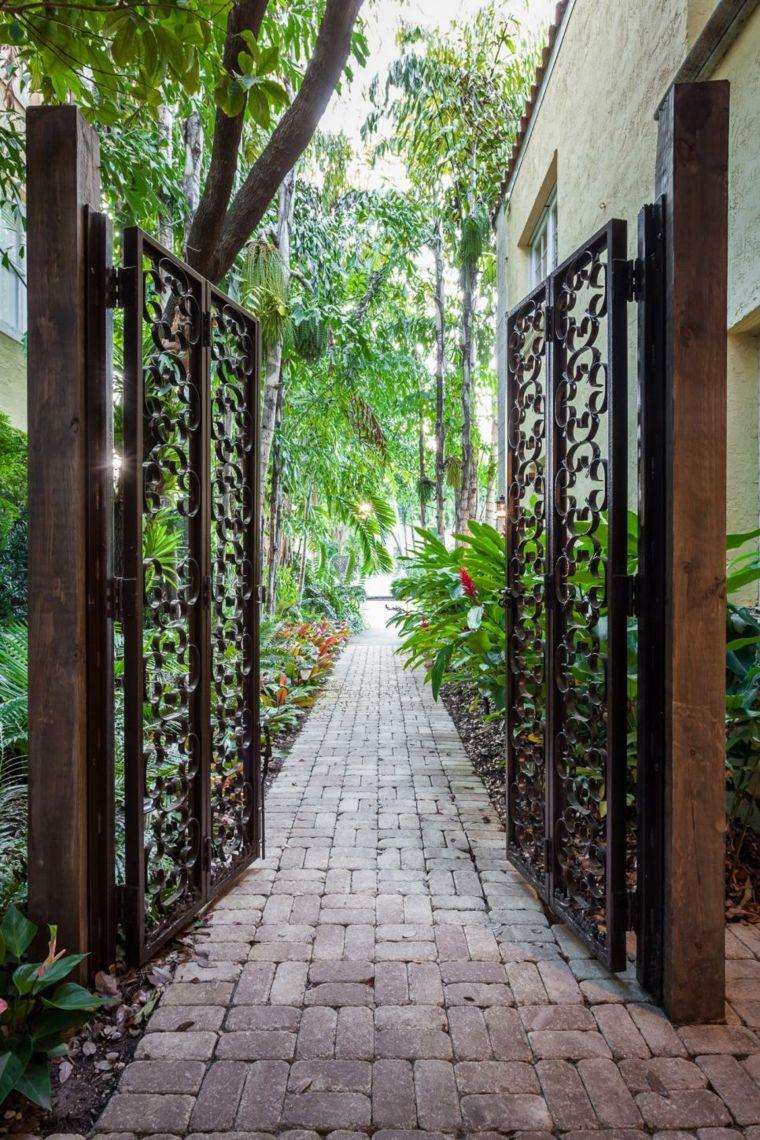 Portillon de jardin : 50 idées pour votre extérieur | JARDINS ...