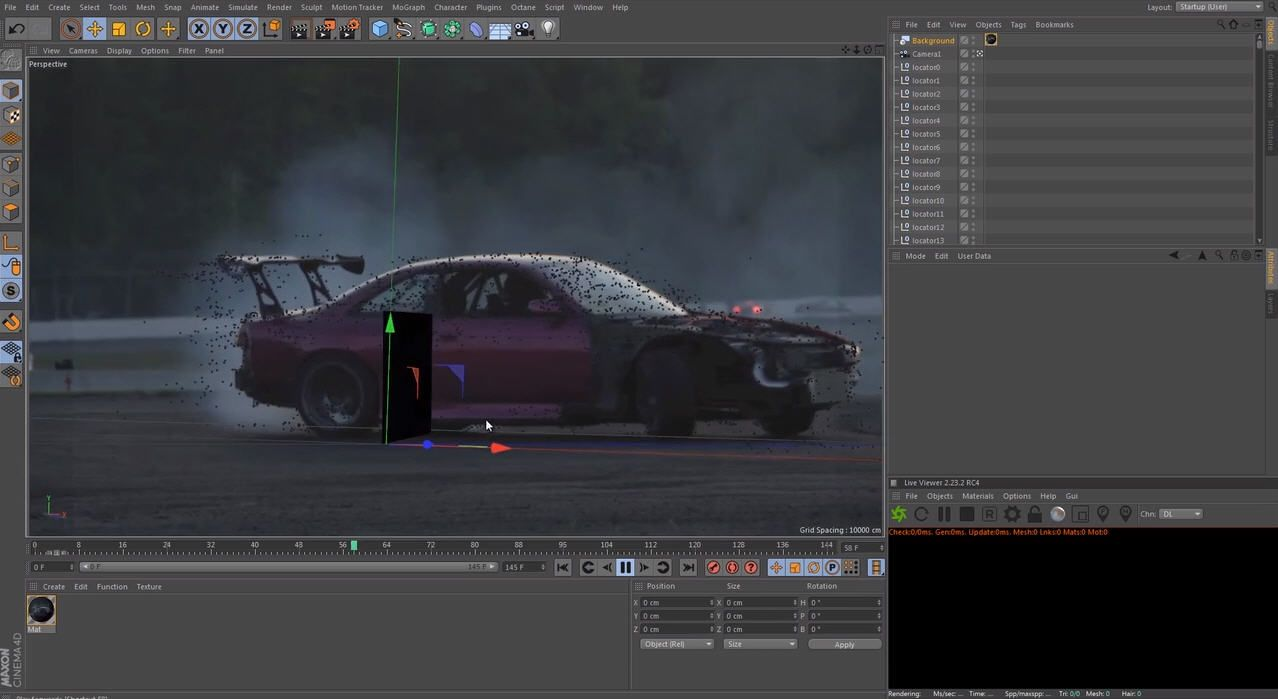 C4D #Nuke #Compositing ] This tutorial covers solving