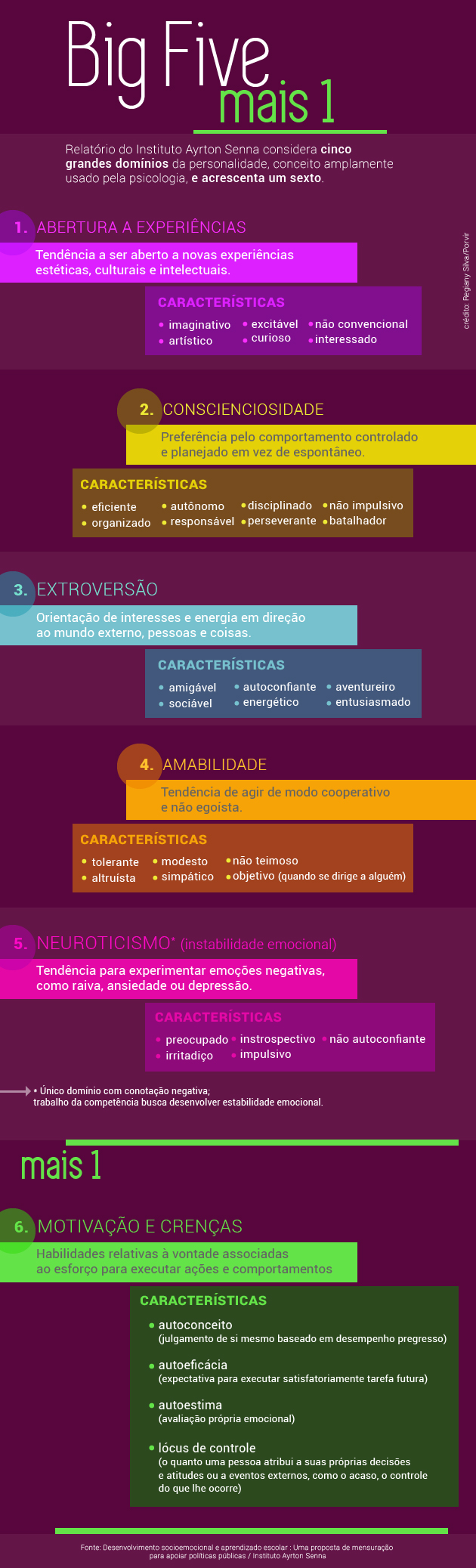 Infográfico pesquisa Instituto Ayrton Senna