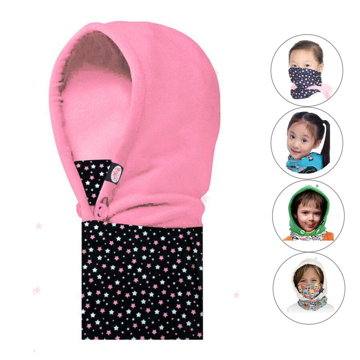 60ec5d411 Triwonder Children's and Kids Thermal Fleece Full Face Cap Hat Neck ...