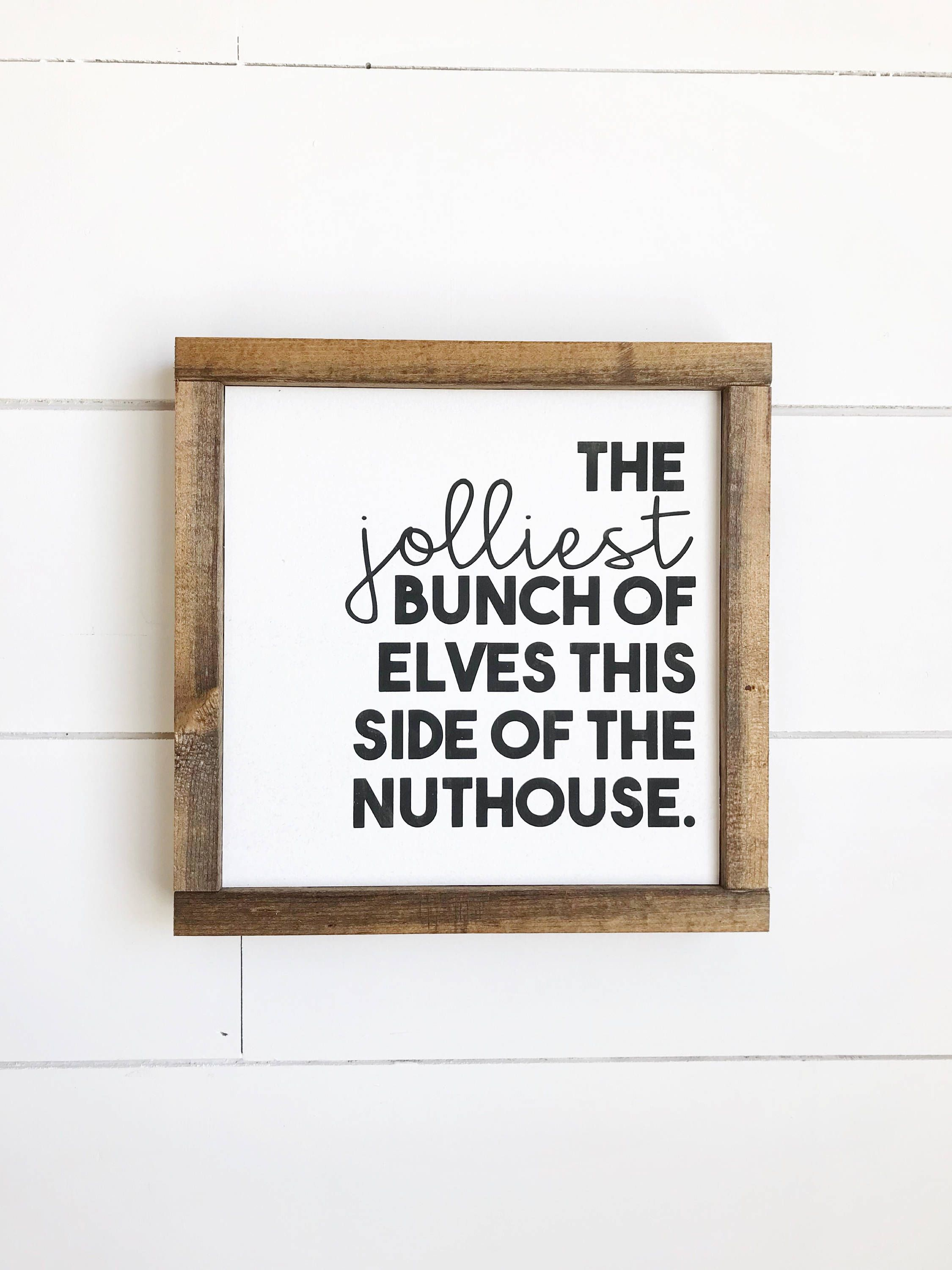 Jolliest Bunch of Elves, Christmas Vacation, Christmas Vacation Sign ...