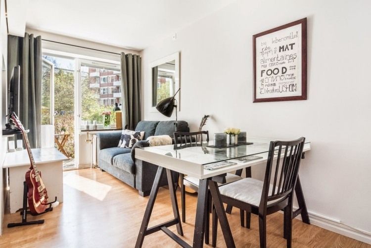 ideen für das kleine wohnzimmer -wohnideen-praktisch-tisch-ikea, Wohnzimmer dekoo