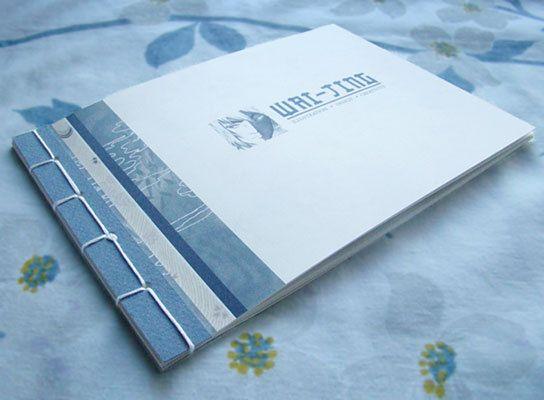 Illustration portfolio - handmade art book, graphic design work - resume books
