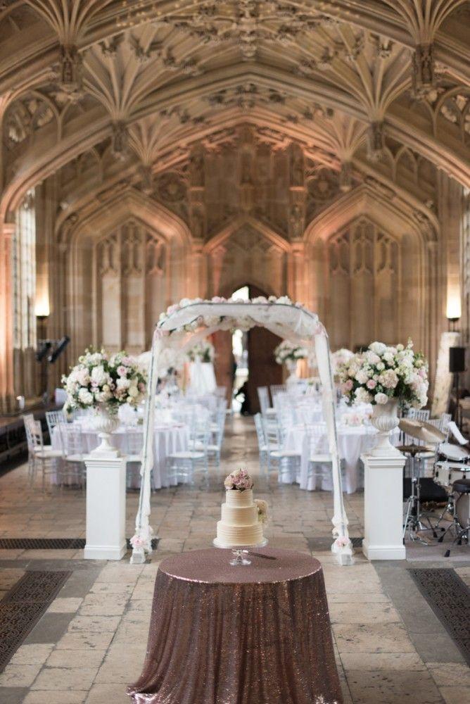 Stunning Fine Art Wedding Reception At Divinity School Oxford