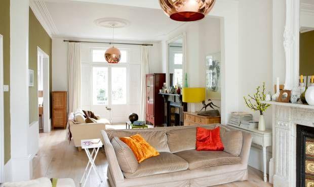 Victorian Terrace With Open Plan Living Open Plan Living Room