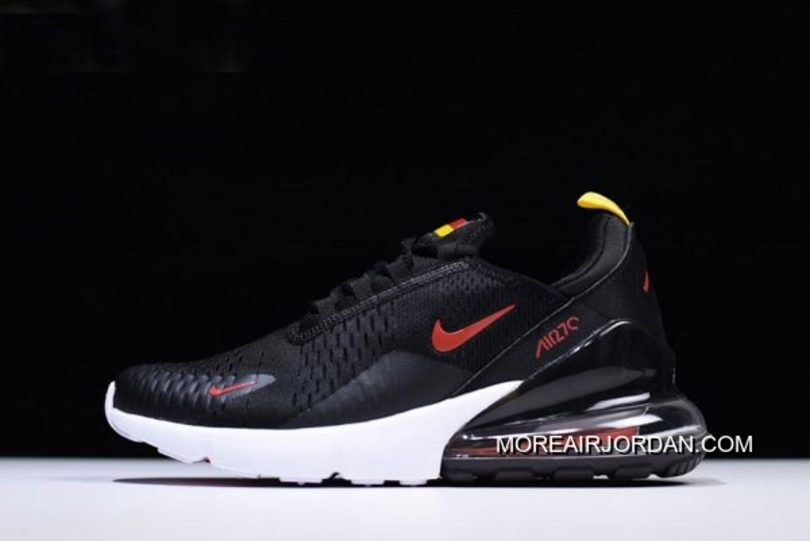 Off White X Nike Air Max 270 Flyknit Black White AA8058 001 Men's Women's Running Shoes Sneakers AA8058 001