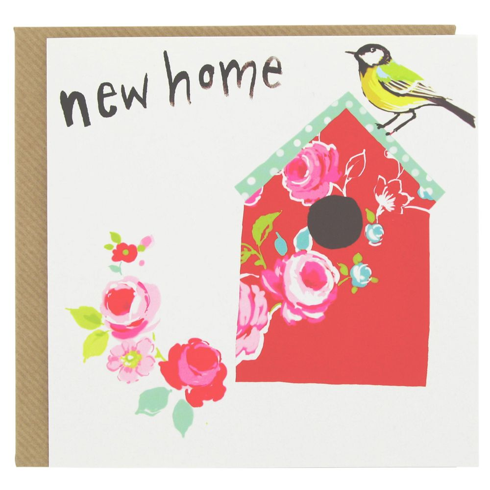 Beautiful new home card with red birdhouse from paperchase cards beautiful new home card with red birdhouse from paperchase cards greetingcards newhomecards kristyandbryce Image collections