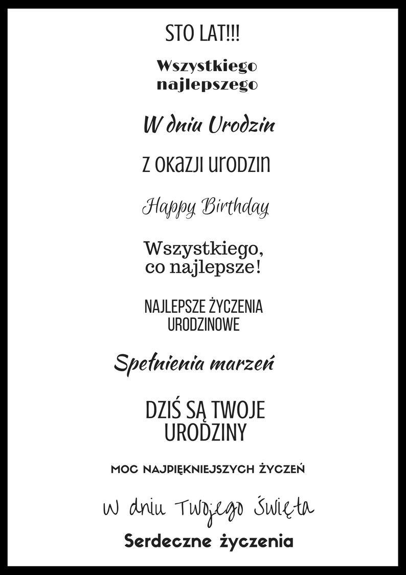 Pin Na Etykietki Urodzinowe Do Druku