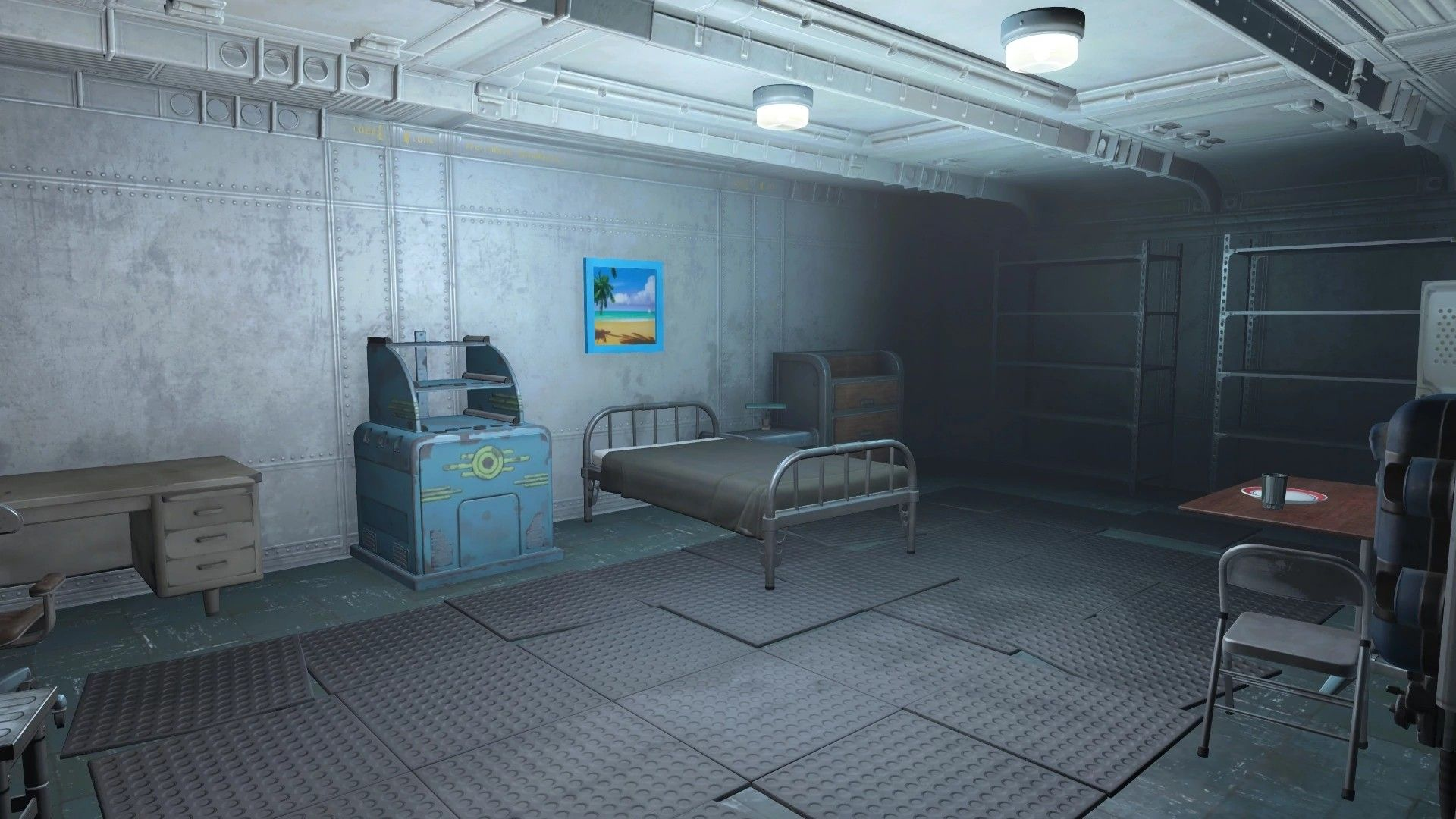 Fallout Vault Interior With Images Fallout Concept Art Interior Concept Art