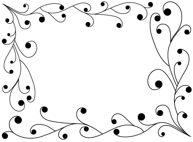 Border Designs Easy Draw Allborderdesigns