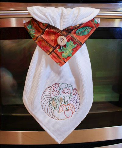 Free project instructions to embroider a topsy towel - Free embroidery designs for kitchen towels ...