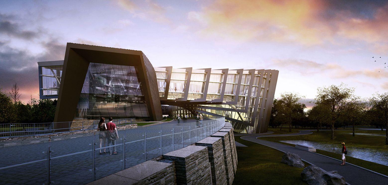 Em Construção: Museu do Palácio - Setor Sul / KRIS YAO | ARTECH