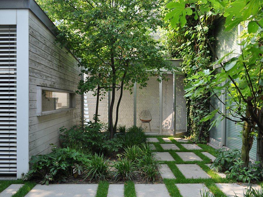 Contemporary garden design #contemporarygardendesign