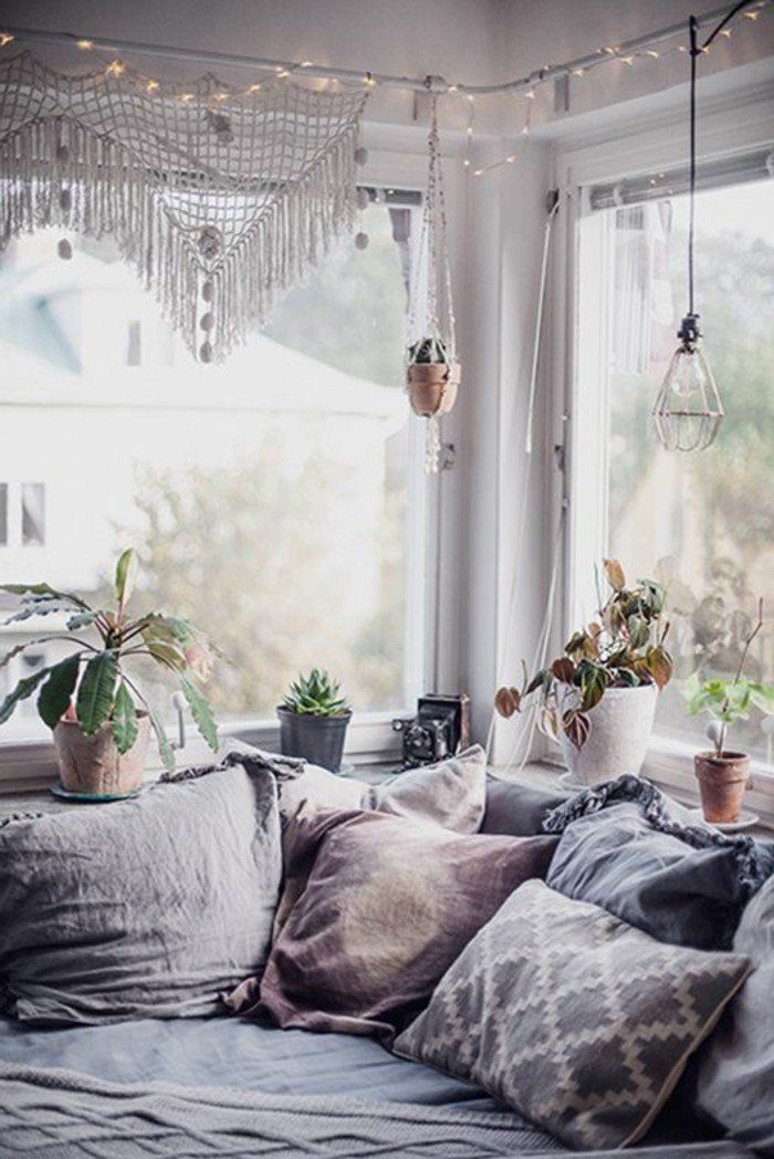 60 idées en photos avec éclairage romantique!   Romantique, Chambre ...
