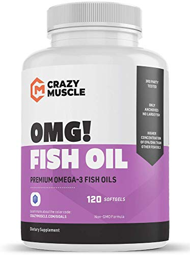Keto Friendly Omega 3 Fish Oils Supplements No Fishy Burps 100 Anchovies Lower Mercury With Small Fish And Best Fish Oil Fish Oils Supplements Fish Oil