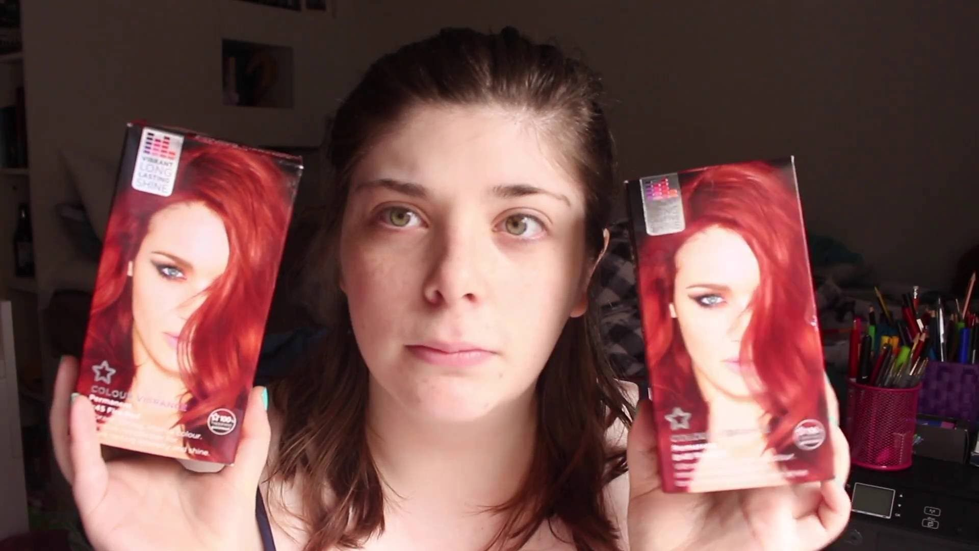 My Face Is On Fire And Red
