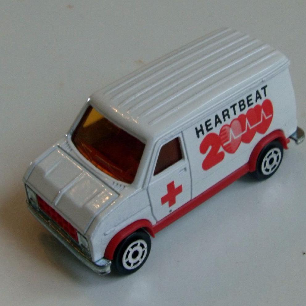 ITEM Majorette Furgon Ambulance French Made Diecast Model