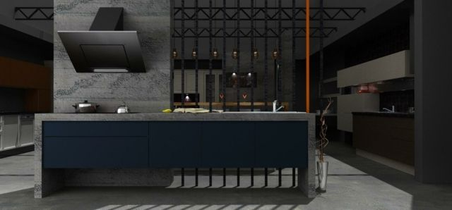 design design kche beton design kche beton design kche designs kuchen deko - Designer Kchen Deko