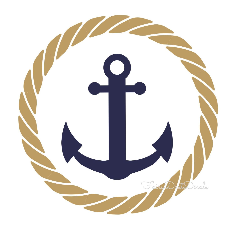ice blue navy anchor clip art and cricut rh pinterest com ship anchor with rope clipart Nautical Anchor Clip Art