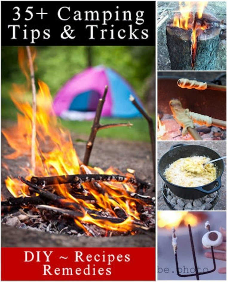 1000 Images About Outdoor Camping Ideas On Pinterest: Diy Projects: 35+ Camping Tips And Tricks & Treats