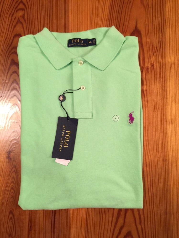 $31 BRAND NEW POLO RALPH LAUREN Mens Green Shirt XL Extra Large Short Sleeve NWT #PoloRalphLauren #PoloRugby