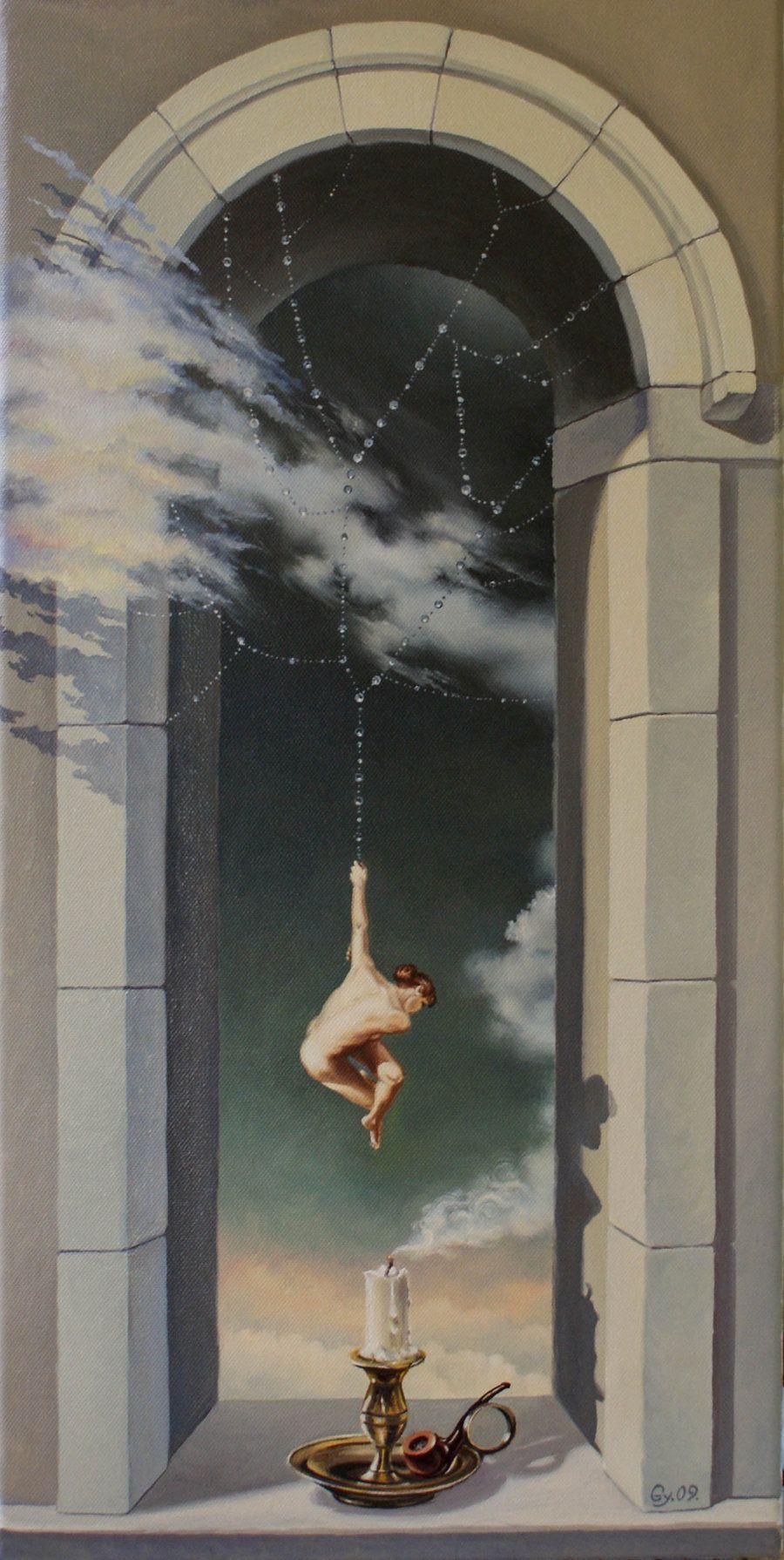 Gyuri Lohmuller Surreal Art Painting Art