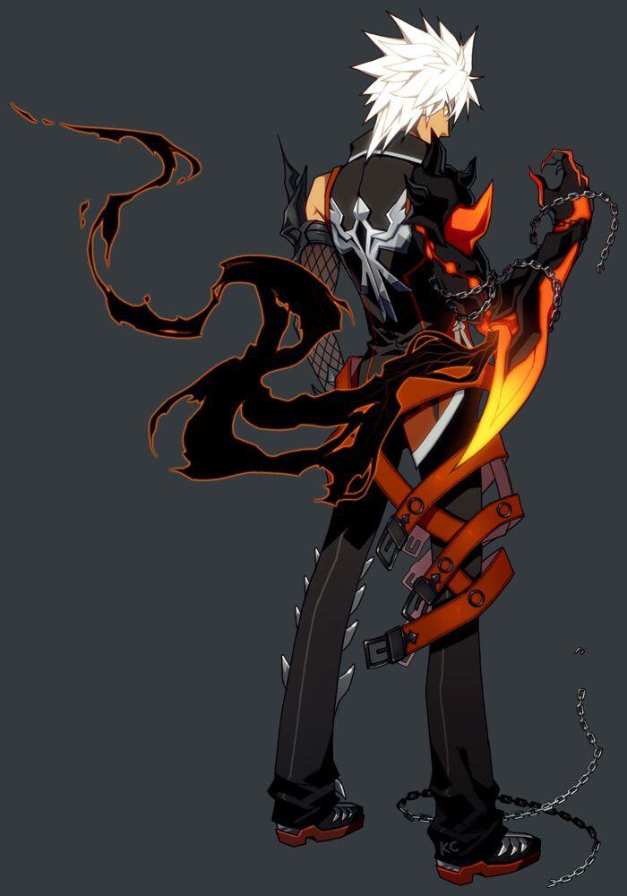 Anime Characters Using Fist : Reckless fist elsword raven rf pinterest
