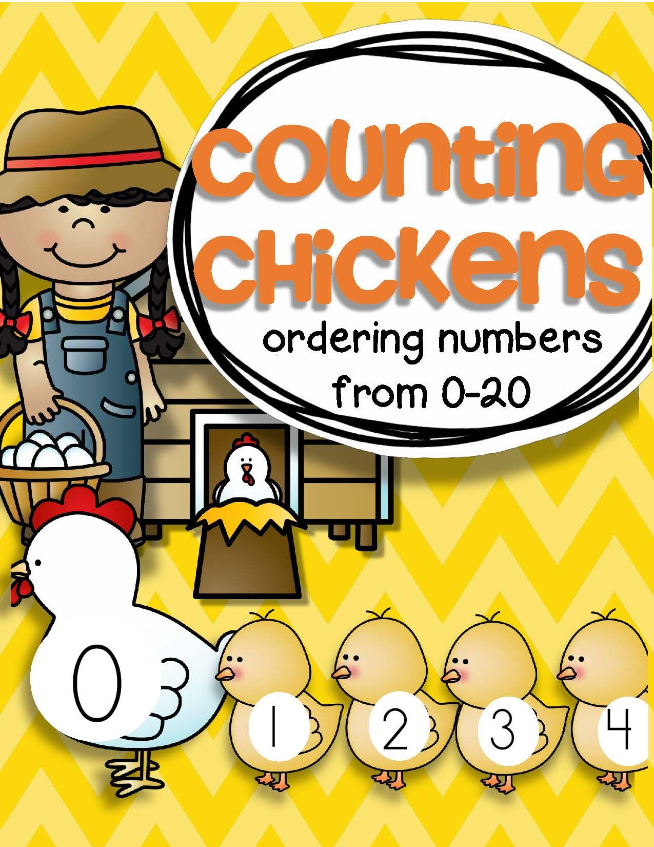 Farm Counting Chickens 0 20 Free