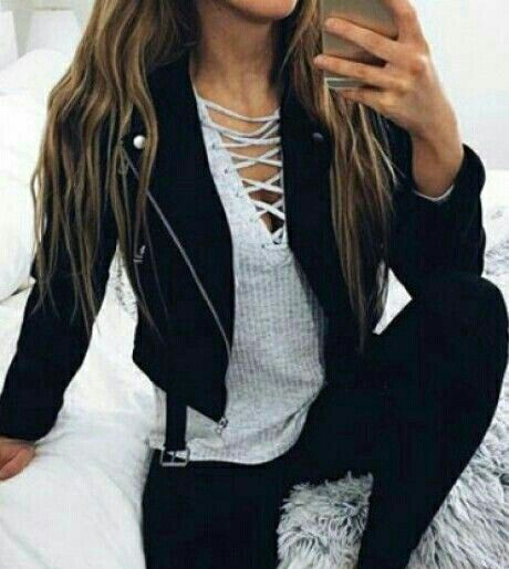 Casual lace up shirt