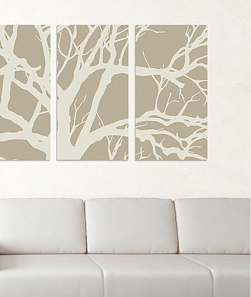 Tree Canvas Wall Art Jcpenney Tree Canvas Canvas Wall Art Home Decor Decals