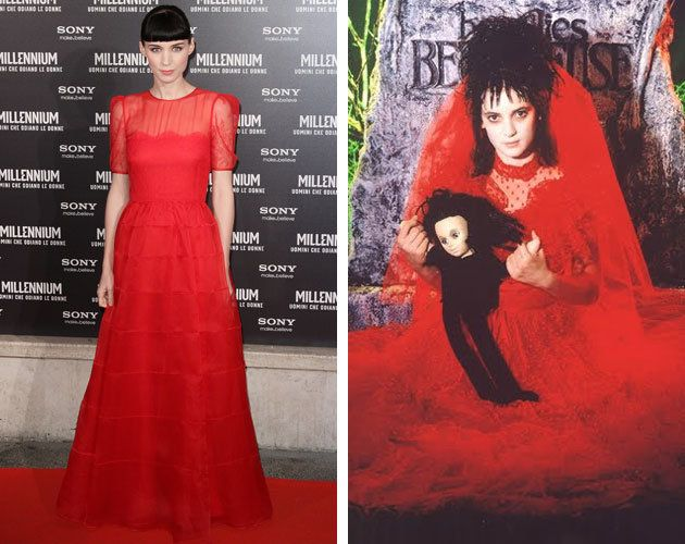 Rooney and Beetlejuice. | Geek Out; | Pinterest | Red wedding ...