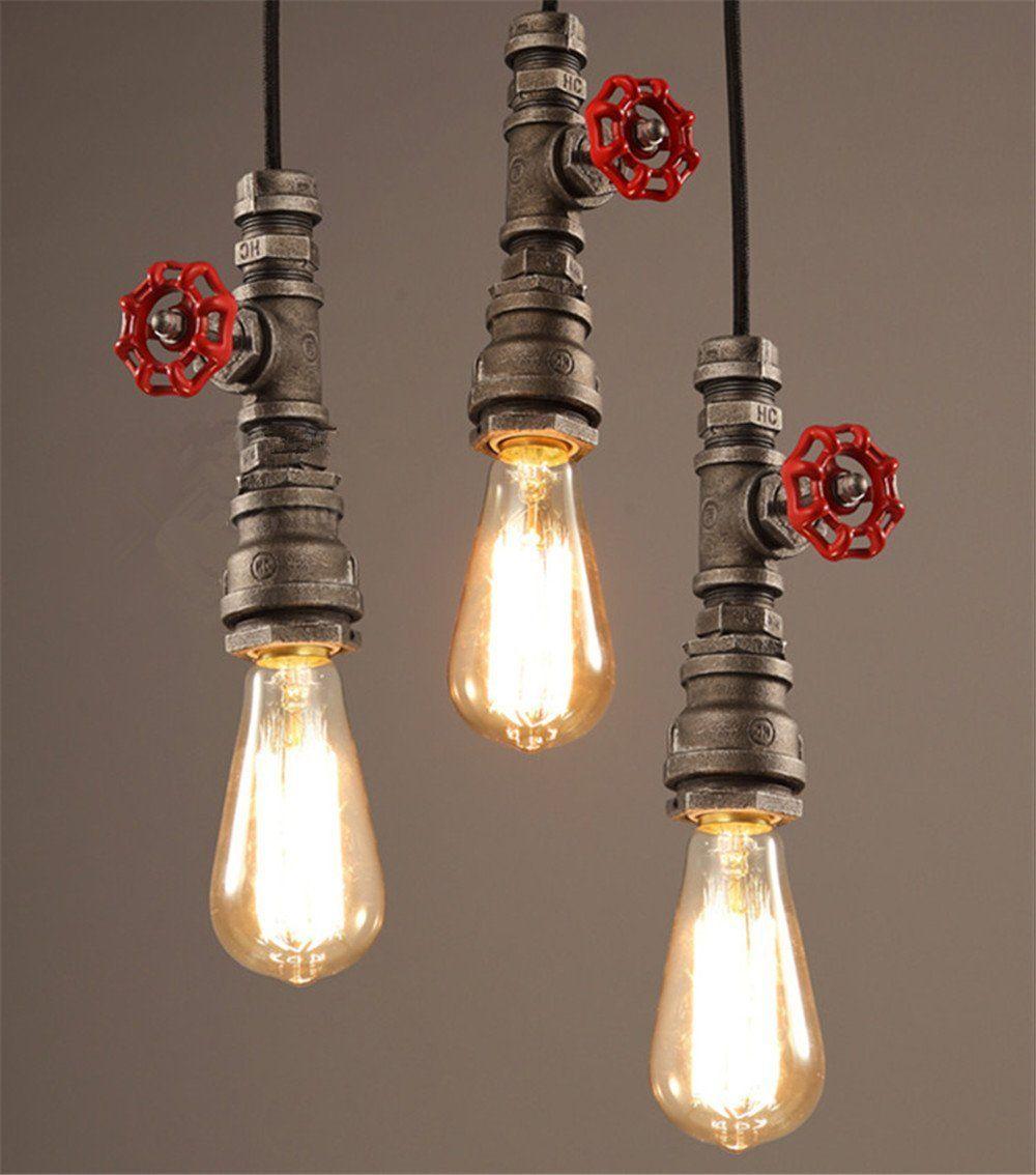 Retro nostalgia e minimalista stile lampadario,Lampade a