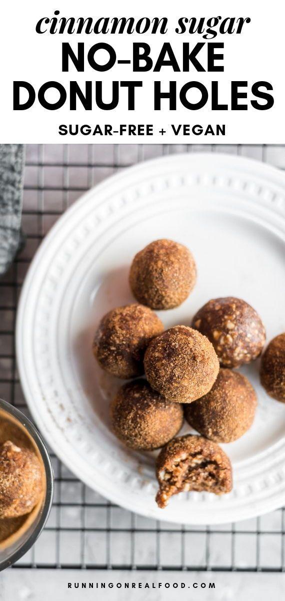 No Bake Vegan Cinnamon Sugar Balls