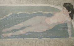 koshiro onchi - 1940, wood