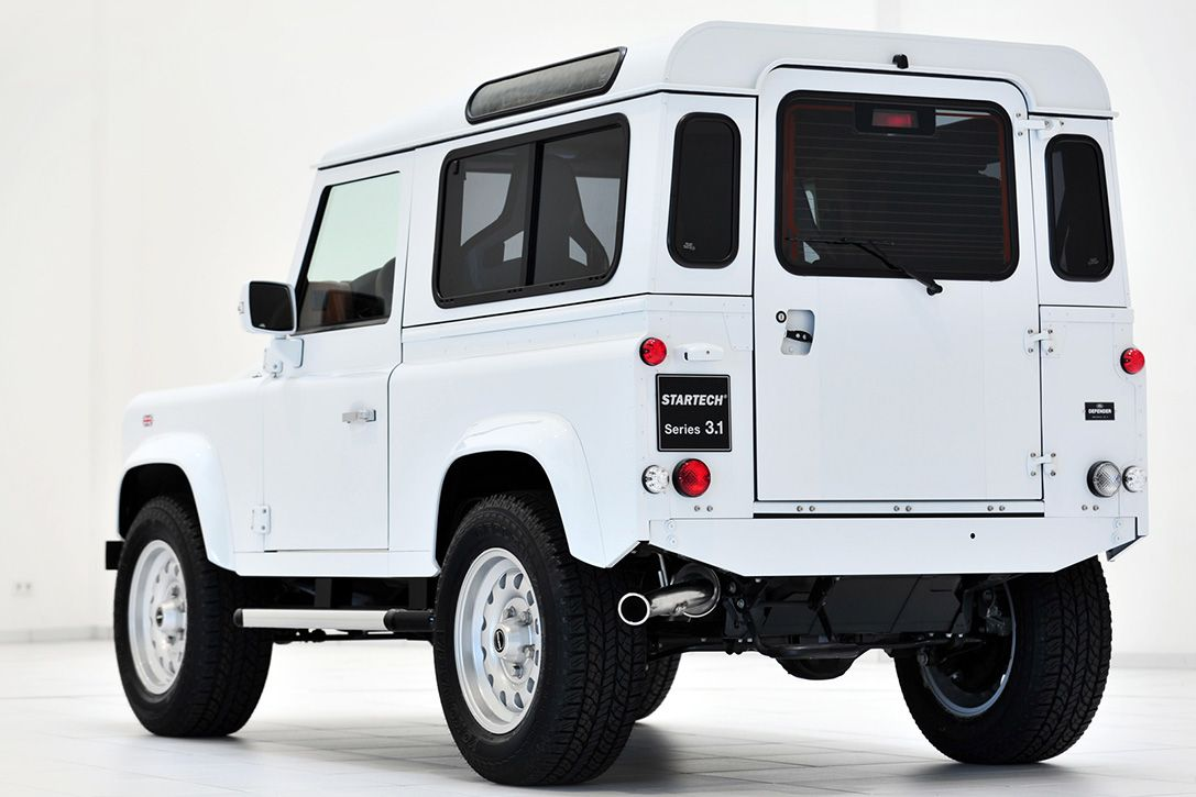 Find this pin and more on autos this custom land rover
